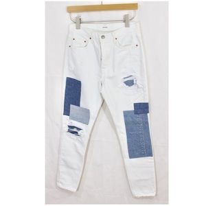 GRLFRND The Carolina Patched Jeans Size 28
